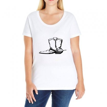 Coboy Shoes Ladies Curvy T-shirt Designed By Acoy