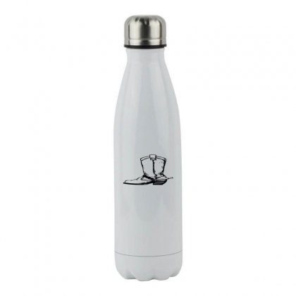 Coboy Shoes Stainless Steel Water Bottle Designed By Acoy