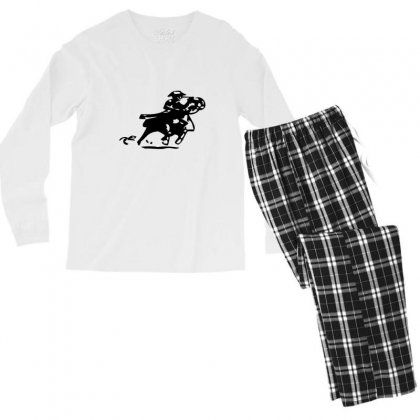 Confused Love The Title Men's Long Sleeve Pajama Set Designed By Acoy