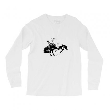 Cowboy Action Taming The Horse Long Sleeve Shirts Designed By Acoy