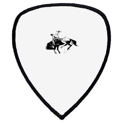 Cowboy Action Taming The Horse Shield S Patch Designed By Acoy