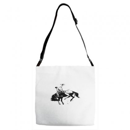 Cowboy Action Taming The Horse Adjustable Strap Totes Designed By Acoy