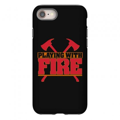 Playing With Fire Movie Logo Iphone 8 Case Designed By Cahayadianirawan