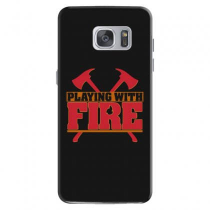 Playing With Fire Movie Logo Samsung Galaxy S7 Case Designed By Cahayadianirawan
