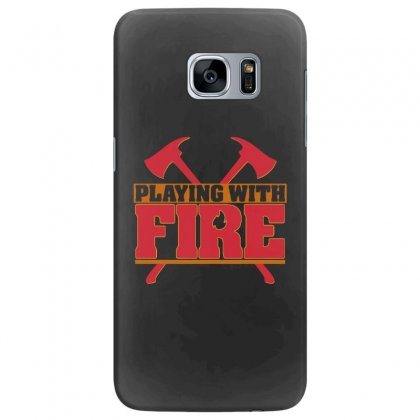 Playing With Fire Movie Logo Samsung Galaxy S7 Edge Case Designed By Cahayadianirawan