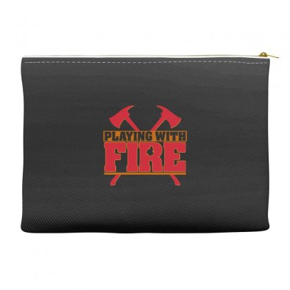 Playing With Fire Movie Logo Accessory Pouches Designed By Cahayadianirawan