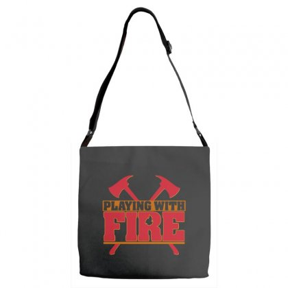Playing With Fire Movie Logo Adjustable Strap Totes Designed By Cahayadianirawan