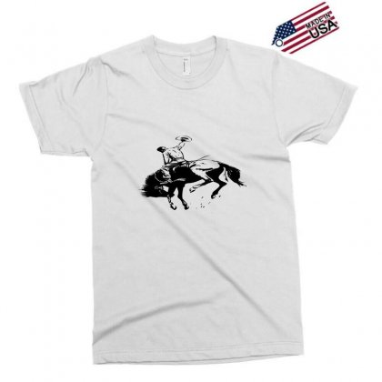 Cowboy Action Taming The Horse Exclusive T-shirt Designed By Acoy