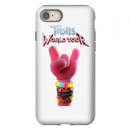 Trolls World Tour Logo Iphone 8 Case Designed By Cahayadianirawan