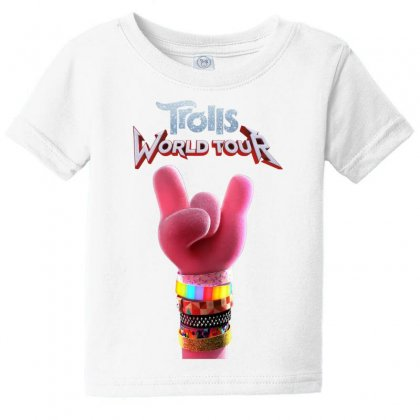 Trolls World Tour Logo Baby Tee Designed By Cahayadianirawan