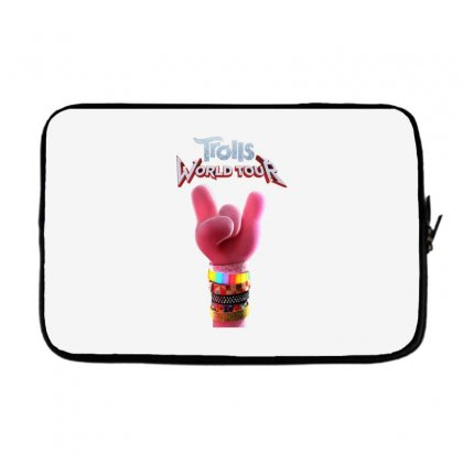 Trolls World Tour Logo Laptop Sleeve Designed By Cahayadianirawan