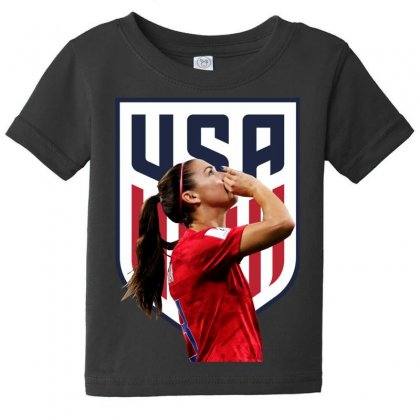 Alex Morgan Usa Soccer Team Best Baby Tee Designed By Cahayadianirawan