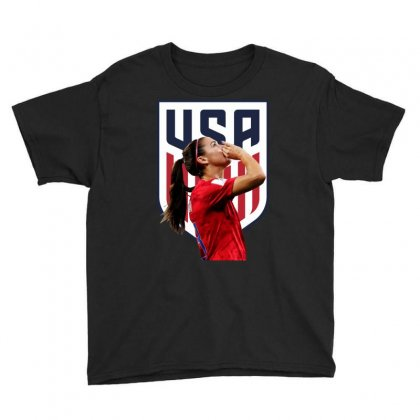 Alex Morgan Usa Soccer Team Best Youth Tee Designed By Cahayadianirawan