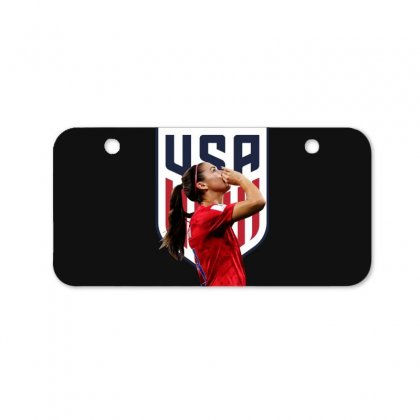 Alex Morgan Usa Soccer Team Best Bicycle License Plate Designed By Cahayadianirawan