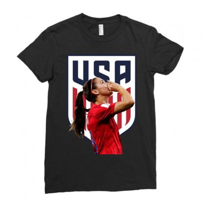 Alex Morgan Usa Soccer Team Best Ladies Fitted T-shirt Designed By Cahayadianirawan