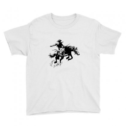 Cowboy Action Youth Tee Designed By Acoy