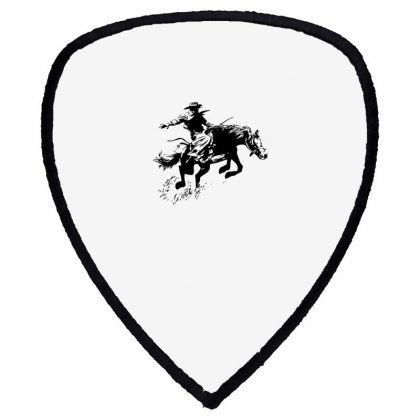 Cowboy Action Shield S Patch Designed By Acoy