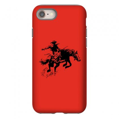 Cowboy Action Iphone 8 Case Designed By Acoy