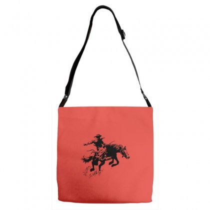Cowboy Action Adjustable Strap Totes Designed By Acoy
