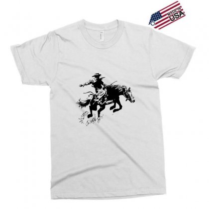 Cowboy Action Exclusive T-shirt Designed By Acoy