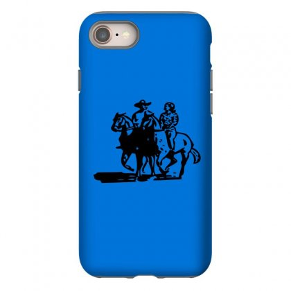 Cowboy Couple Iphone 8 Case Designed By Acoy