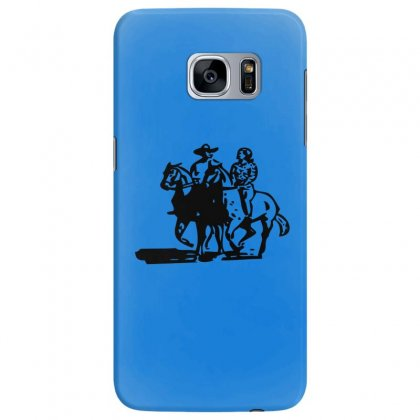 Cowboy Couple Samsung Galaxy S7 Edge Case Designed By Acoy