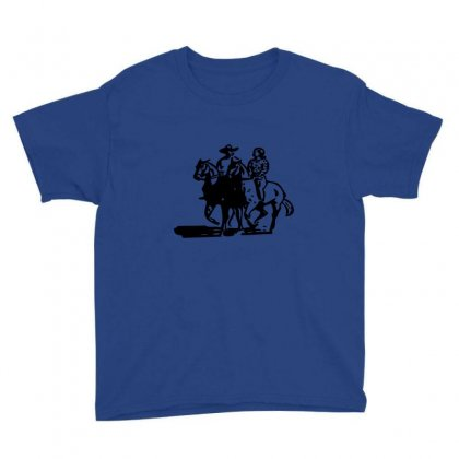 Cowboy Couple Youth Tee Designed By Acoy