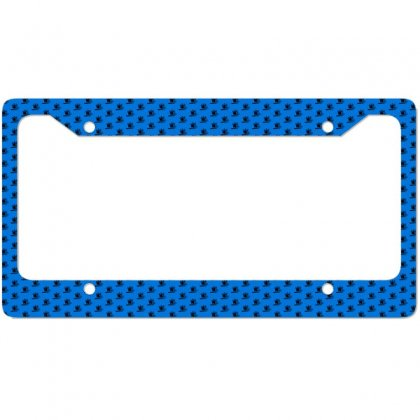 Cowboy Couple License Plate Frame Designed By Acoy