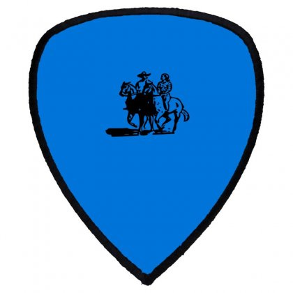 Cowboy Couple Shield S Patch Designed By Acoy