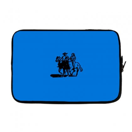 Cowboy Couple Laptop Sleeve Designed By Acoy