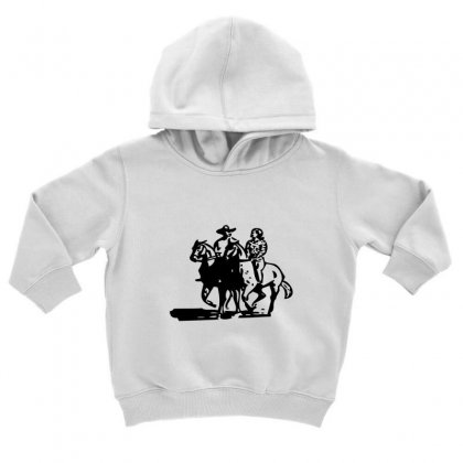 Cowboy Couple Toddler Hoodie Designed By Acoy