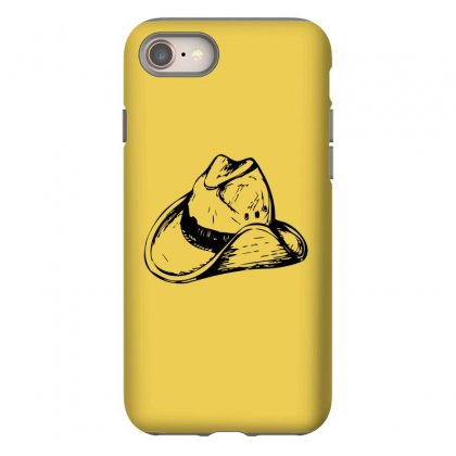 Cowboy Hat 2 Iphone 8 Case Designed By Acoy