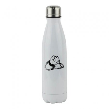 Cowboy Hat 2 Stainless Steel Water Bottle Designed By Acoy