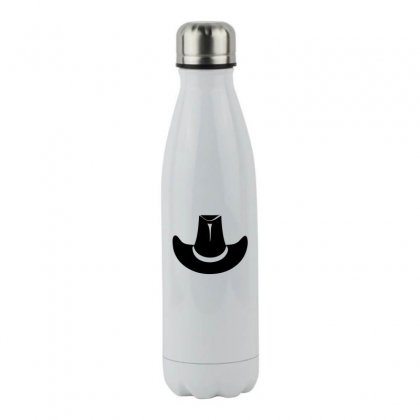 Cowboy Hat Stainless Steel Water Bottle Designed By Acoy