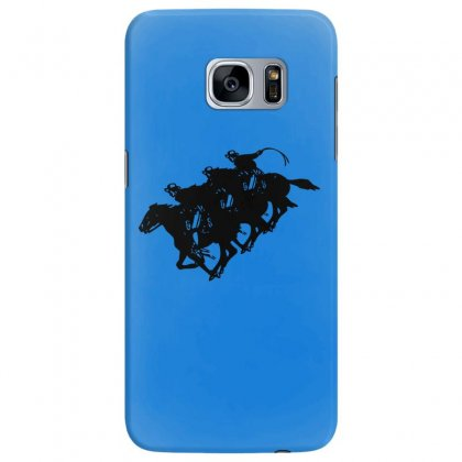 Cowboy Horse Racing Samsung Galaxy S7 Edge Case Designed By Acoy