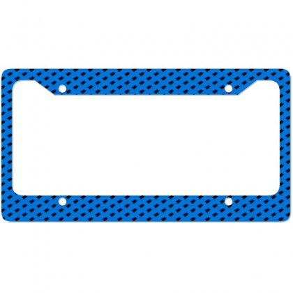 Cowboy Horse Racing License Plate Frame Designed By Acoy