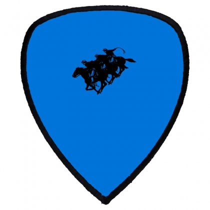 Cowboy Horse Racing Shield S Patch Designed By Acoy