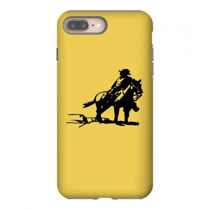 Cowboy Style On A Horse Iphone 8 Plus Case Designed By Acoy