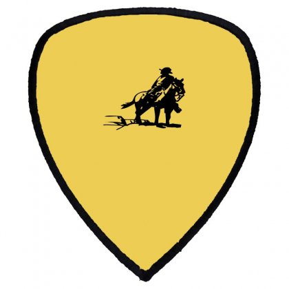 Cowboy Style On A Horse Shield S Patch Designed By Acoy