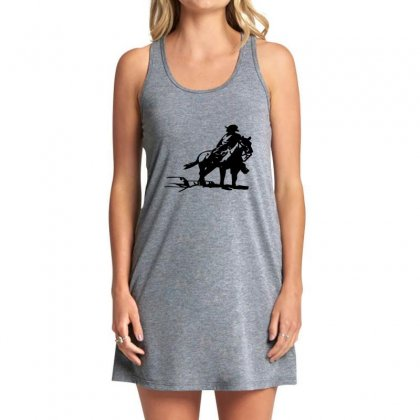 Cowboy Style On A Horse Tank Dress Designed By Acoy
