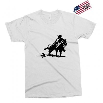 Cowboy Style On A Horse Exclusive T-shirt Designed By Acoy