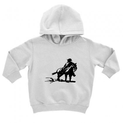 Cowboy Style On A Horse Toddler Hoodie Designed By Acoy
