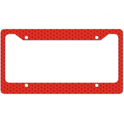 Cowboy Style License Plate Frame Designed By Acoy