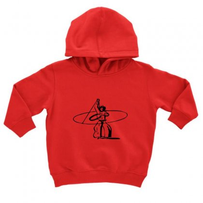 Cowboy Style Toddler Hoodie Designed By Acoy