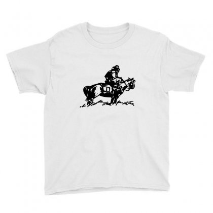 Cowboy Trip Youth Tee Designed By Acoy