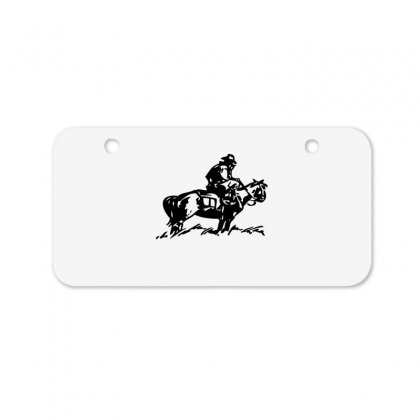 Cowboy Trip Bicycle License Plate Designed By Acoy
