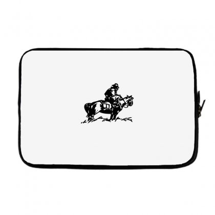 Cowboy Trip Laptop Sleeve Designed By Acoy