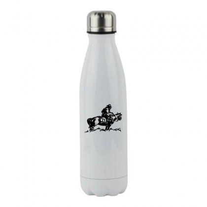 Cowboy Trip Stainless Steel Water Bottle Designed By Acoy