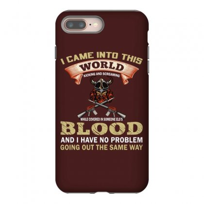 I Came Into This World (gun T Shirt) Design Png Iphone 8 Plus Case Designed By #t-shirt Designer Safiul Islam
