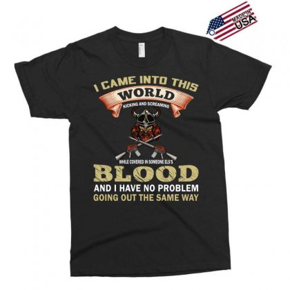 I Came Into This World (gun T Shirt) Design Png Exclusive T-shirt Designed By #t-shirt Designer Safiul Islam